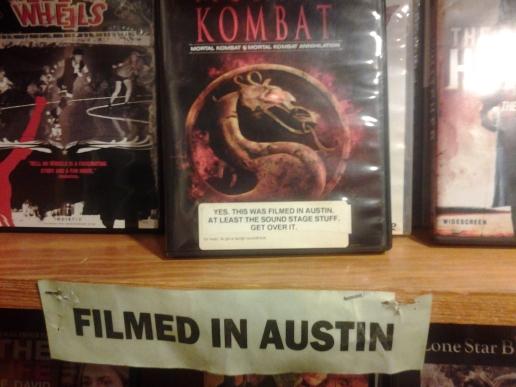 """Ermanitahs y ermanitohs de Ryuuko: Combate Mortal fue """"filmada"""" en Austin. True story."""
