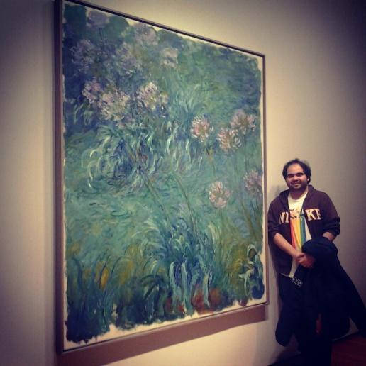 Otro grande era Monet