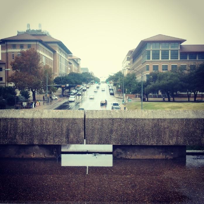El puente de Dean Keeton, a pasos de mi oficina