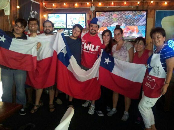 Chile 2 - España 0